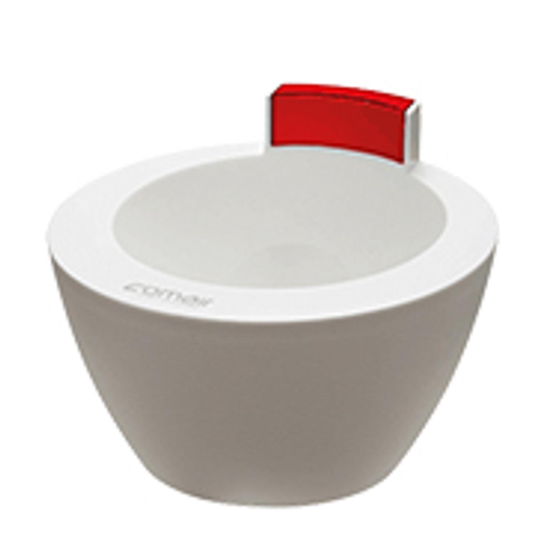 Comair Treatment Bowl weiß / rot 350 ml