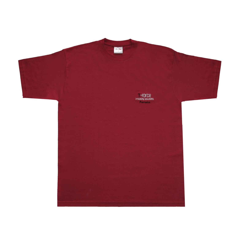 Fanola T-Shirt T-FORCE Bordeaux