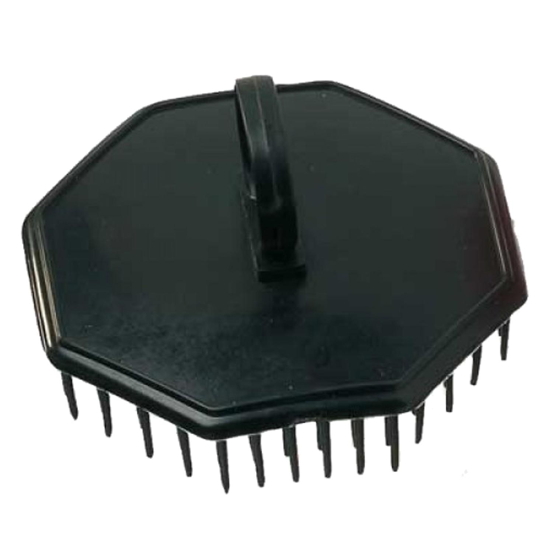 Comair Shampoo- und Kopfmassagebürste schwarz