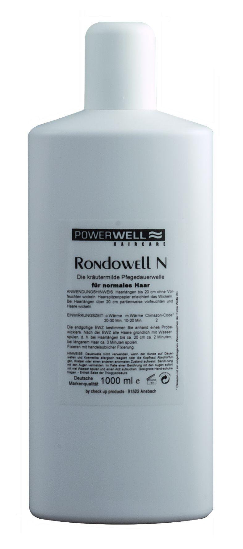 POWERWELL Rondowell Dauerwelle GEFÄRBT 1 L