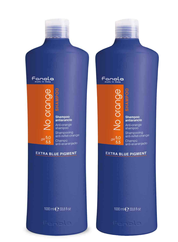 Fanola Set: 2 x No Orange Shampoo 1L