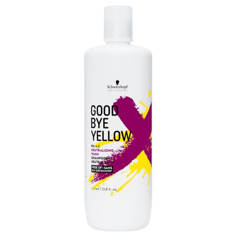 Schwarzkopf GOODBYE YELLOW Shampoo 1 L