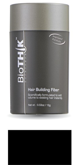 BioTHIK Haaraufbaufasern 15 g S6: mittelaschblond